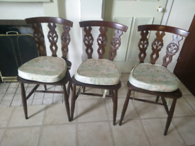 Ercol 6 Chair Set - Mid-Century Vintage Classic Retro Up Cycle