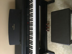 Yamaha Clavinova CLP-411 Piano + Bench (Perfect Condition)