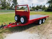 BRAND NEW 3.5t flat deck trailer- custom made to order Jimboomba Logan Area Preview