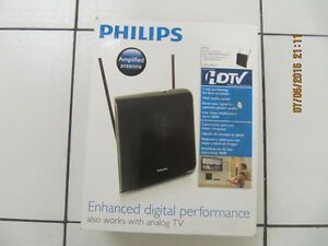Philips SDV2740/27 HDTV Amplified Television Antenna X Condition