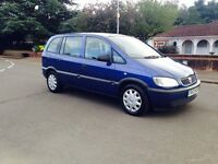 Zafira 2003-7 SEATER FAMILY RUNNER MECHANICALLY EXCELLENT RELIABLE CAR-MOT-SERVICE IN OUT CLEAN