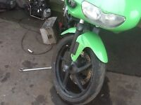 APRILIA RS50cc Derby 2004 model spares parts only