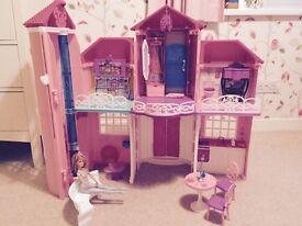Barbie Malibu House Dreamhouse Playset
