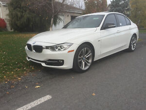 2013 BMW 3-Series Sport , cuir rouge et plus , Berline