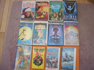 (59) CHILDRENS AND OTHER VHS MOVIES SOME WALT DISNEY London Ontario image 3