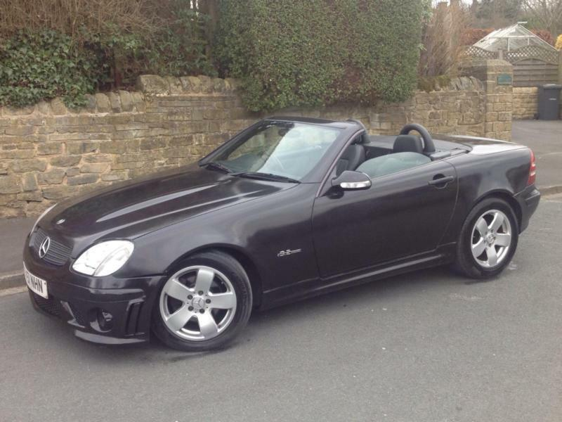 Mercedes Slk Amg Convertible Auto Petrol Black In Keighley West