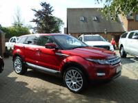 2011 61 Reg Land Rover Range Rover Evoque 2.2SD4 Auto Prestige