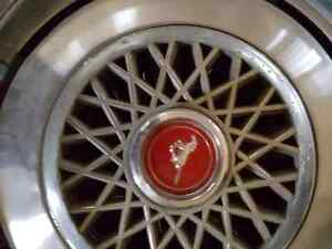 Ford Mustang Hubcaps from the 70s