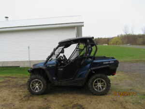 2012 Can Am Commander 1000 Limited UTV