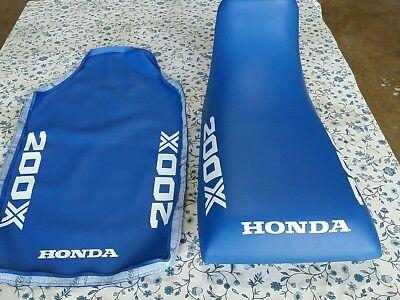 HONDA ATC200X ATC 200X 1985 MODEL  Seat Cover BLUE (H11)