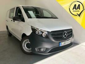 2019 Mercedes-Benz Vito 116 Cdi L2 H1 Crew Van Diesel Automatic 1 Owner Fi Minib