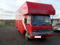 Leyland/ DAF 45 130 HORSEBOX WITH ACCOMODATION FOR SALE