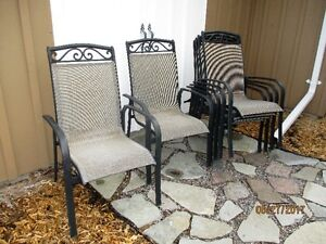 Set of 6 chairs for patio table - $60 for the complete set of 6