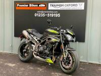 BRAND NEW TRIUMPH SPEED TRIPLE RS 1050 HYPER NAKED MOTORCYCLE