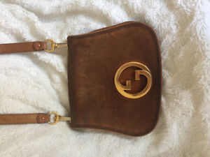 Authentic Vintage GUCCI suede Bag ( 1970's) 1200.00 or BO