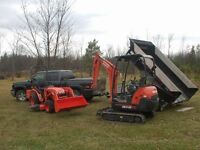 Excavating Services.  Peterborough and Surrounding Areas
