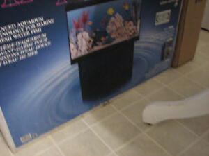 134 litre fish tank with stand.