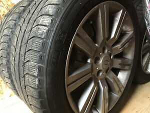 Michelin tires & Land Rover rims 275/45R20