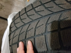 255/60/17 R  winter tires for sale.
