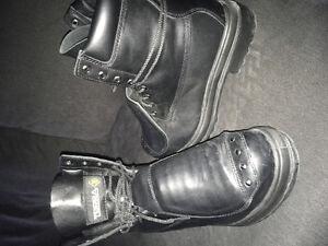 Black Steel Toe