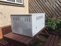 Aluminium dog kennel for sale