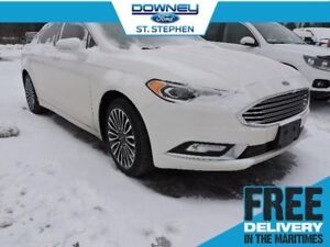 2017 Ford Fusion SEnavigation, leather, moon roof, heated seats!