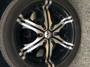 305/40r22 rims and tires