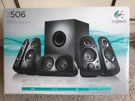 Logitech 5.1 3D surround sound speakers