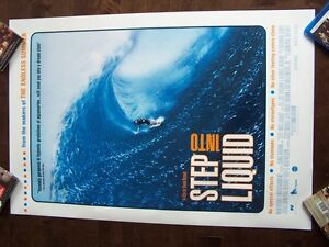 STEP INTO LIQUID D/S original movie theater poster SURFING