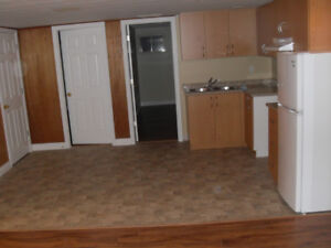 Two Bedroom Basement  available for Rent From September 01/2018