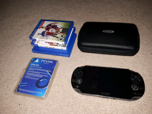 PS Vita With Awesome Games!