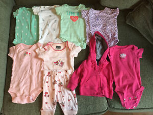 Newborn Girls Clothing Lot