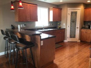 Further reduced!! KITCHEN CABINETS, COUNTERS & SINK