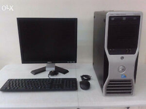 Dell/HP Powerful System -Best PC- Workstation - Station Travail