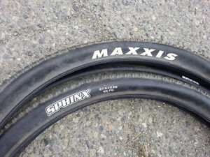 Pair of Maxxis 27.5 Mountain Bike tires