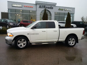 2012 Ram 1500 Quad SLT 4x4, clean with clean history