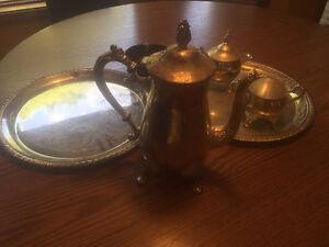 Vintage Silver Plated Tea Set Windsor Region Ontario image 1