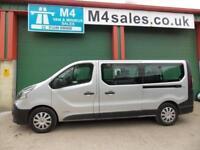 Renault Trafic 9 Seat Lwb minibus,A/con