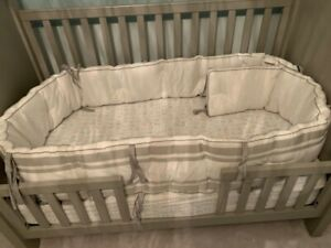 Pottery Barn Full Baby Bedding set includes mattress
