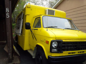 Concessions Food Truck for sale - own a business for a low price