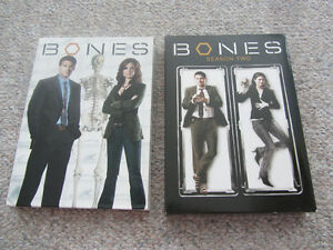 First Two Seasons Of Bones on DVD