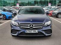 2017 Mercedes-Benz E Class Mercedes-Benz E E220d 2.0 AMG Line Premium Plus 4dr A