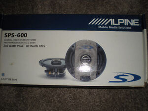 Alpine Auto Speakers