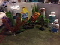 Fish Aquarians items some brand new