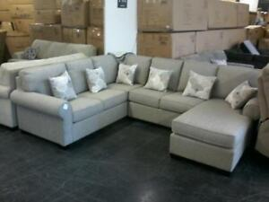 New Large Canadian Made Sectional just $2099 Taxes included until the end of October.