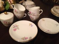 Beautiful bone China tea set wedding chabby chic seltmann weiden k bavaria