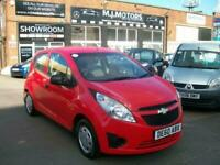 Chevrolet Spark 1.0 +. LOW MILEAGE ONLY 61,000 MILES, 1 OWNER FROM NEW