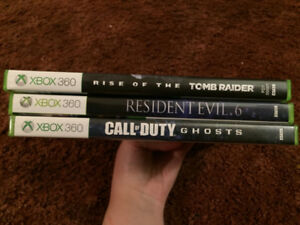 Xbox 360 New/Like New games