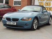 2005 05 BMW Z4 2.0 Z4 SE ROADSTER 2D 148 BHP