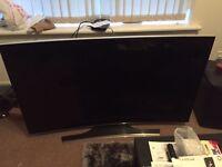 "Samsung 4K Curved 55"" TV (SPARES/REPAIRS)"